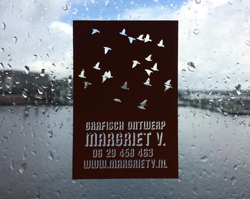 visitekaartje margriet v. gelaserd